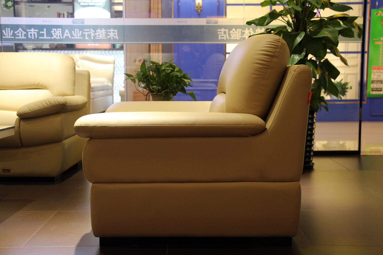 促销:喜临门样品转角沙发 单人沙发22605元